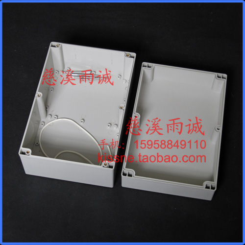 a 61 - es 240*160*120 műanyag doboz esetében az eszköz vízálló burkolat kapcsolódobozt irányító.