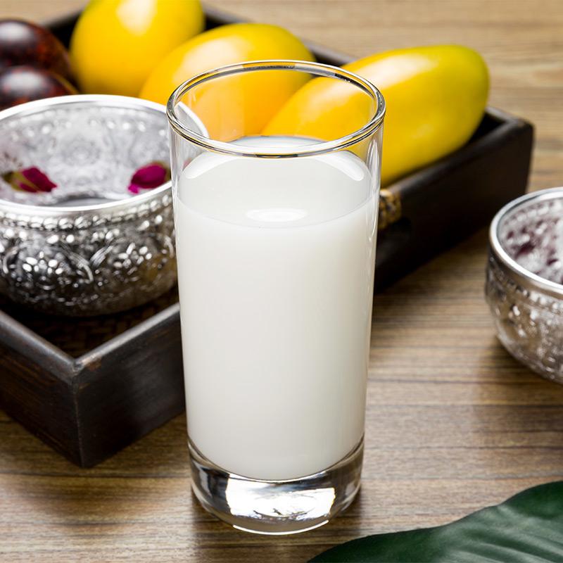 耐熱肥厚強化透明グラススーツ無蓋湯コップ家庭用ジュース杯はヨーロッパの大きさを積ん