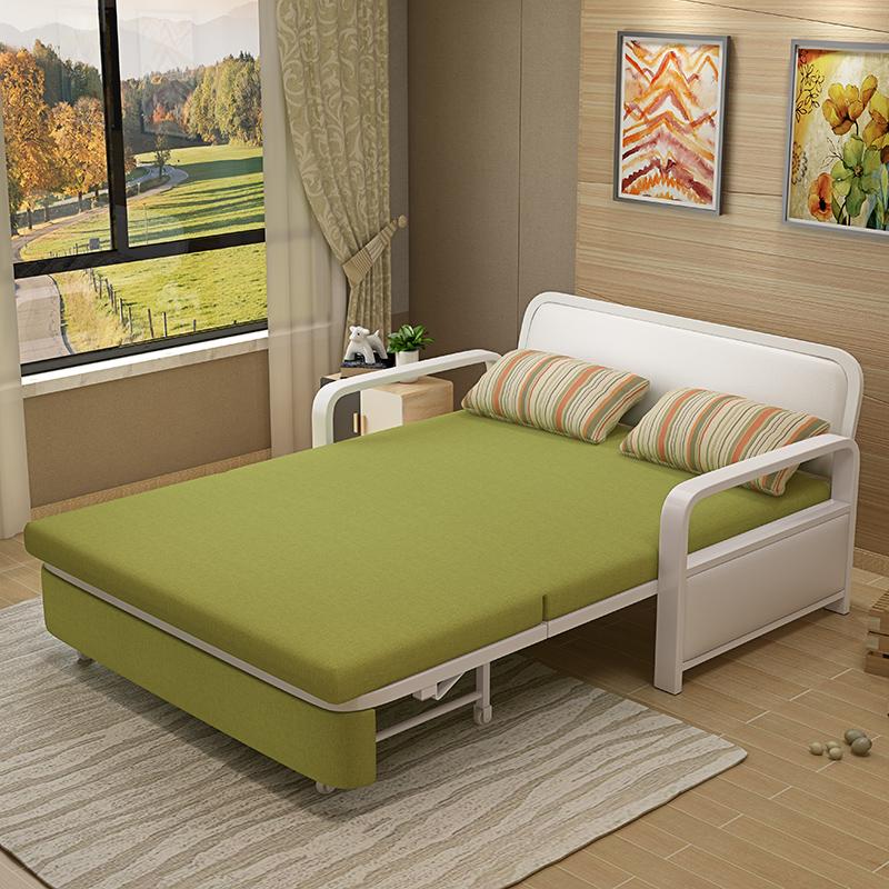 Το μικρό μέγεθος του σαλονιού πολυλειτουργική καναπέ - κρεβάτι πτυσσόμενου 1,5 m απλά η διπλή 1.2 ύφασμα διπλής χρήσης.