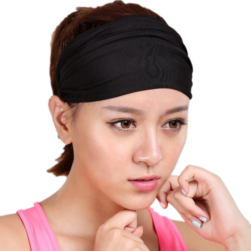 A yoga yoga fitness exercise hoop headdress more men and women running Tiaocao sweat dry hair band