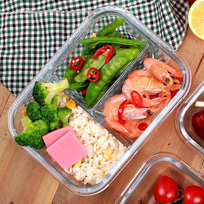 ミニ加熱密封陶磁器の多層は、環境保護の簡約として、食堂のボックスを持って、弁当箱