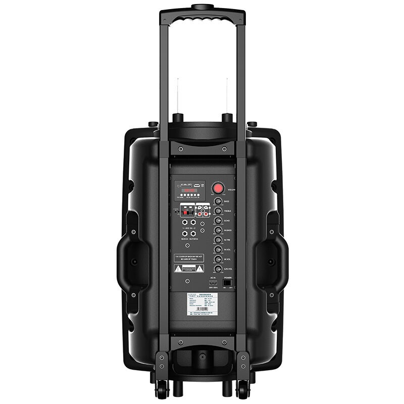アウトドアじゅうご寸ロッドスピーカーポータブル家庭用電力Bluetooth広場舞電気音響HJ-610