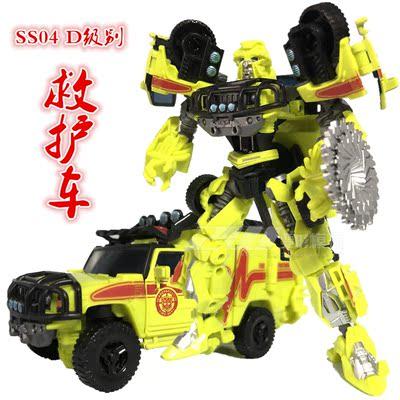 变形玩具金刚 SS系列 SS04 救护车 10周年电影经典 D级 医官 散货