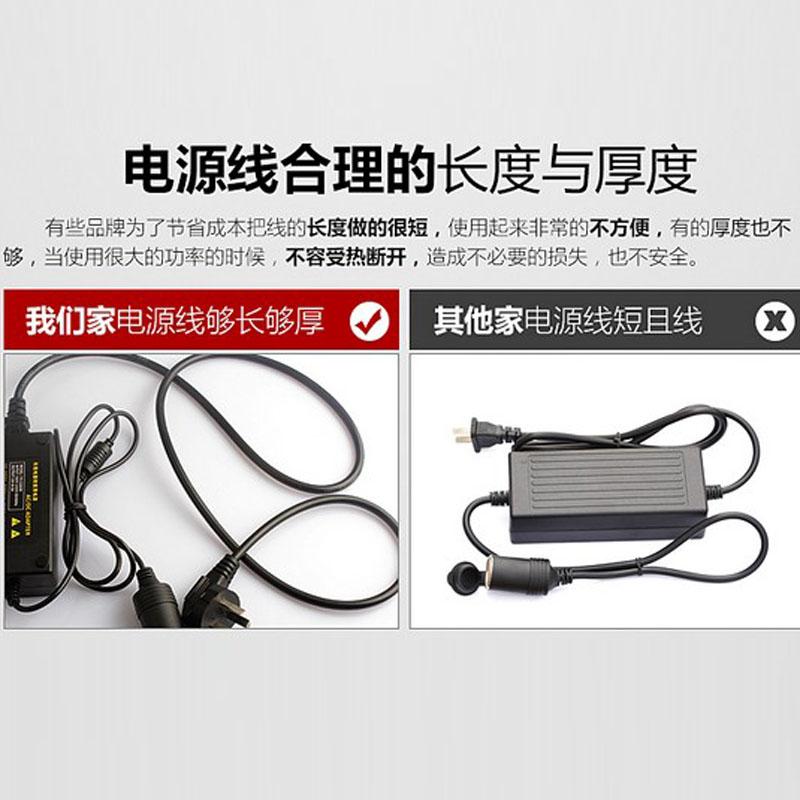 車載電源変換器の220 V転12 Vハイパワーミニ車用の家庭用汎用電源電圧コンバータ