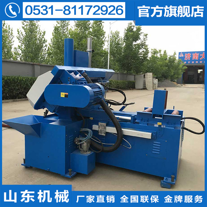 0 angle vertical saw horizontal cutting round bed material cutting factory direct selling factory GS26 machine saw blade steel processing down