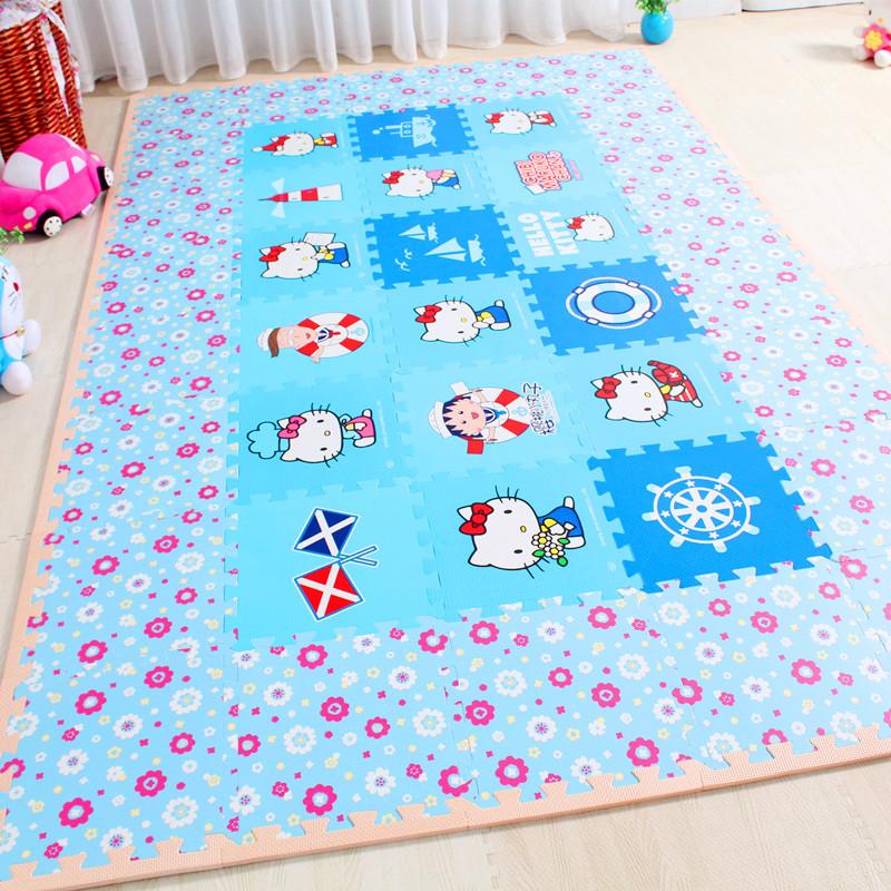 Crawling pad pad pad moisture water baby stitching foam mats tatami mats non-toxic baby children's Puzzle