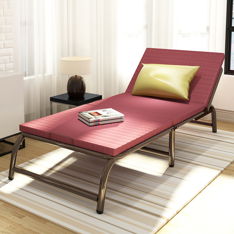 Fashion easy to install Office lunch break sheets, double sponge camp bed cloth children's accompanying bed