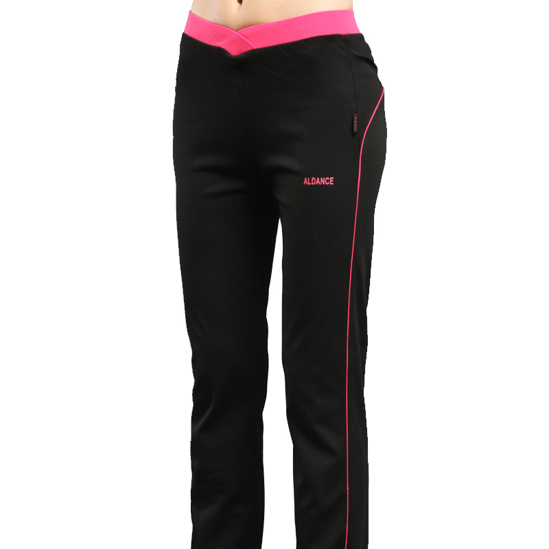 High elastic comfortable sports pants, women's trousers, autumn square dance pants, dance acrobatics pants, fitness clothes, aerobics pants