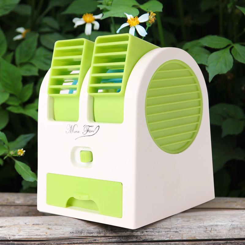 小さい扇風機扇風機usb小型寒い創意携帯車載冷凍ミニ電動寮マイクロ水エアコン