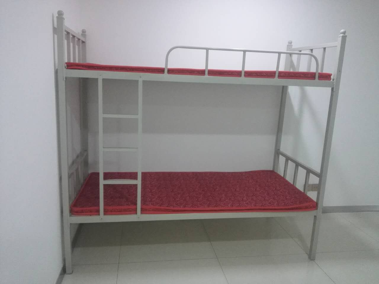 Double bed bunk bed bed iron adult trusteeship class student dormitory bed Xi'an package delivery installation