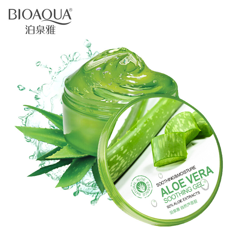 Fonte natural de aloe vera gel Bo, máscara de Creme hidratante anti - Acne gel