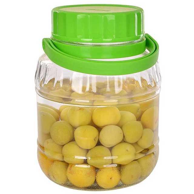 紫丁香大号玻璃泡菜坛子酵素密封罐腌制柠檬酸菜家用储物罐泡酒瓶
