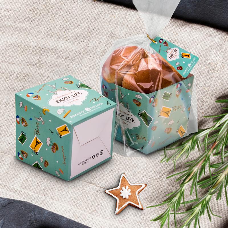 Biscotti di cartone confezione di Biscotti Dolci un Sacco di Cibo di Torrone - sedicente... Natale...