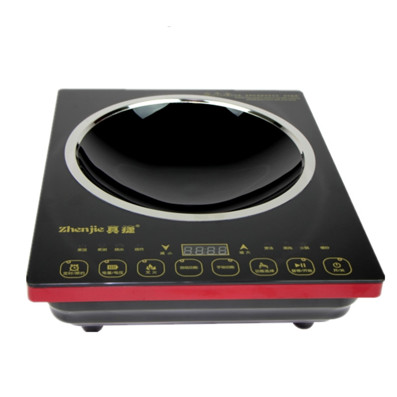 La cocina de gran poder de fuego - cóncava especial hogar inteligente gama electromagnética la batería de cocina de 3000w