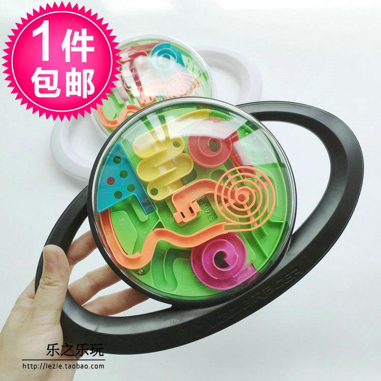 - 走珠 3d volant bludiště inteligence 闯关 pozornost soustředit magickou kouli děti puzzle hračky 323
