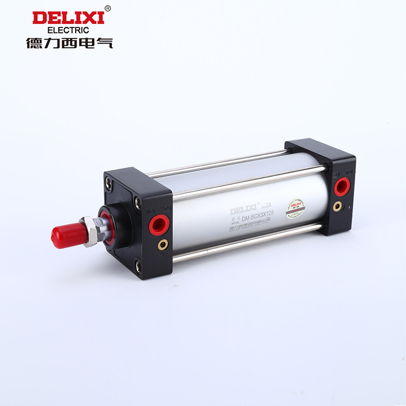 - Delixi elétrica padrão AIRTAC cilindro cilindro SC63/80/100*25/50/75/100