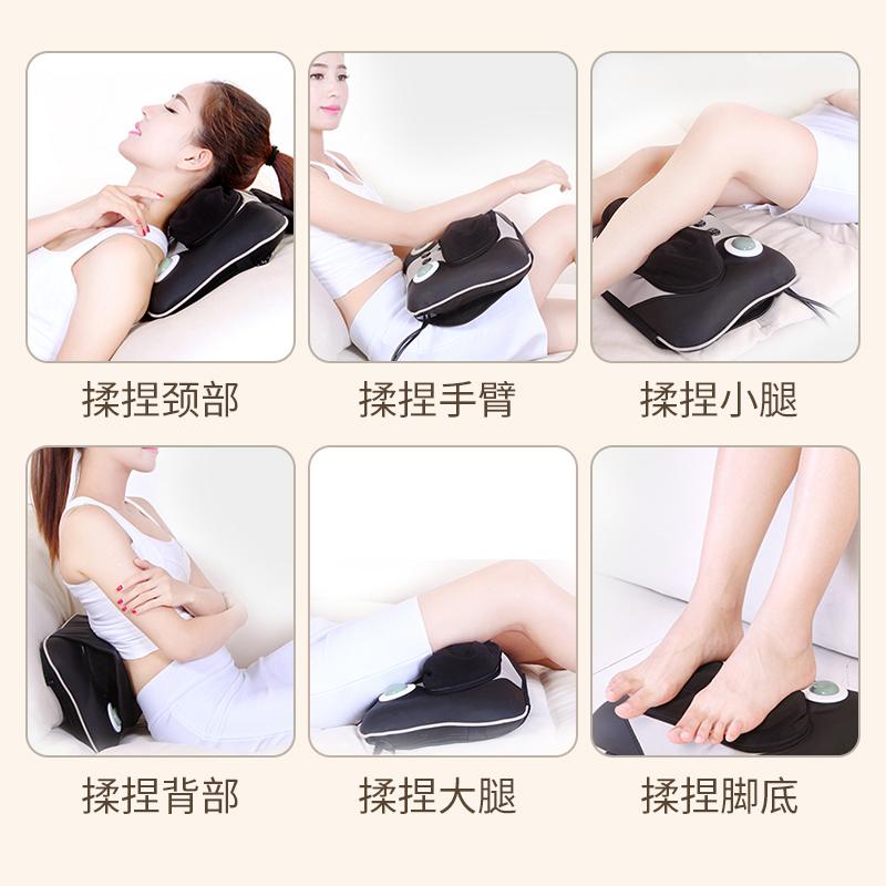 คัง YH-888 Yee Wo อุ่นนวดนวดนวดไหล่หมอนกระดูกสันหลังส่วนเอวมัลติฟังก์ชันในเบาะ