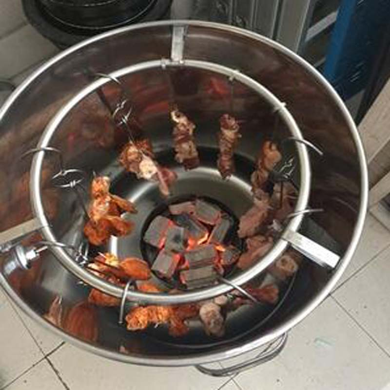 - Barbecue Serie Forno di carbone di legna non Barbecue in griglie unico Forno Utenti commerciali Al Di fuori della Casa di anatra arrosto in Forno in Acciaio inossidabile