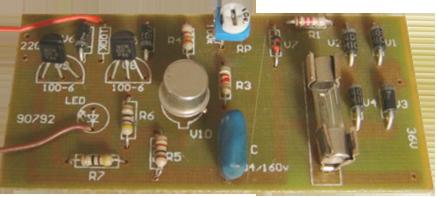 examinarea intermediară electrician de regulator de tensiune (single cu un cablu de alimentare și transformatoare) / de apartament