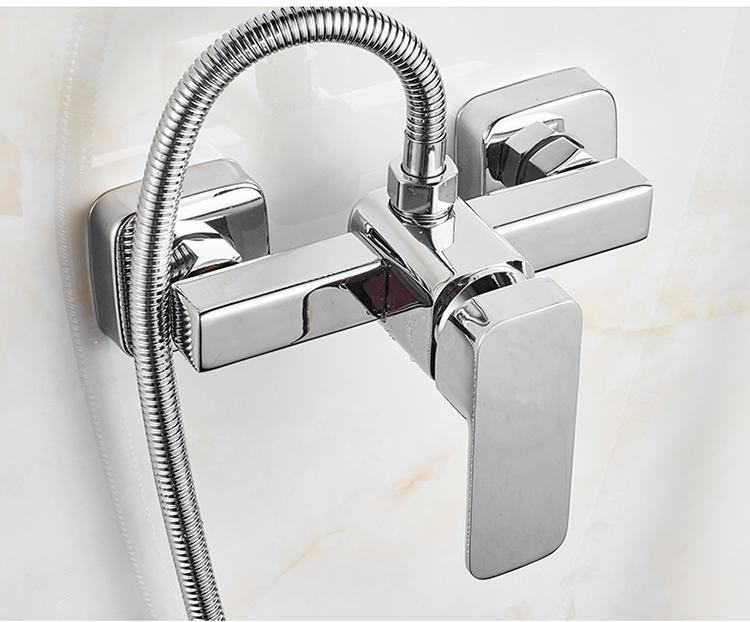 特価シャワー蛇口じょうろスーツ暗い装混じる水弁入浴冷熱蛇口汎用部品全銅スイッチ