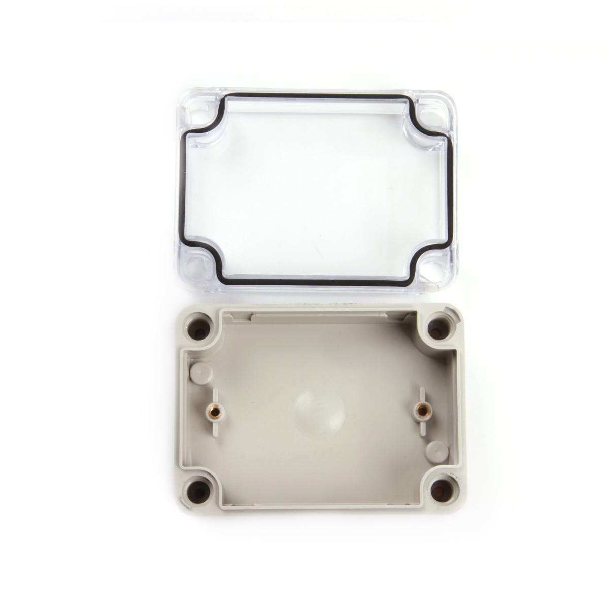 80*110*45PC átlátszó műanyag ponyva a terminál dobozt doboz kapcsoló hermetikusan zárt mérőszekrények