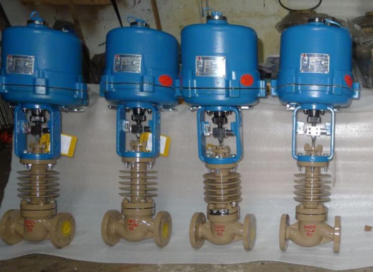 взрывобезопасное пояс ZDLP электрический радиатор температуры пара высокого давления насыщенных htf регулирующий клапан регулирующий клапан фланец
