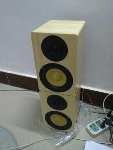 Diy хорошо всего 5,5 дюйма, полный набор сосны деревянные полки ораторов еще с классической jvcux-5000 комбинационная акустика