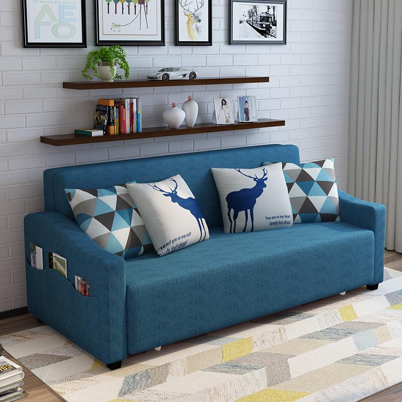ラテックスベッドでは、エマルションソファベッドの2メートルタイプの2メートルの小型タイプとしては、布製の2メートル