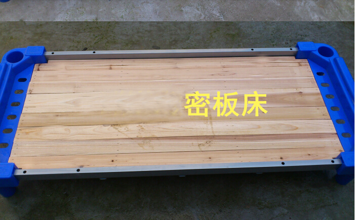 Kindergarten bed, lunch bed, children's plank bed, plastic bed, folding bed, solid wood bed, double bed