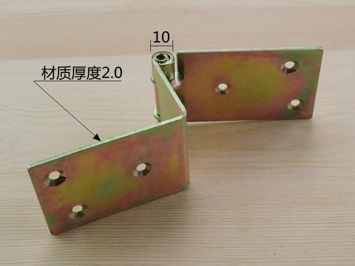 Ampliación de plato plato alargado bisagra bisagra de 90 grados el ángulo de bisagra bisagra bisagra de cajones de madera