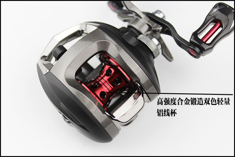 All metal droplets round of 11 axis road Yalun reel magnetic brake anti fried line raft fishing water wheel wheel shipping