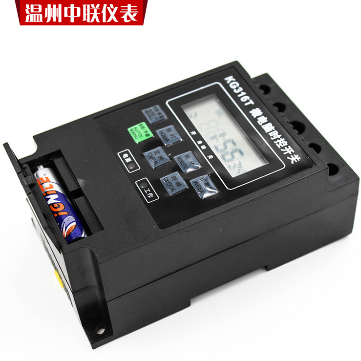 Packet microcomputer time control switch, KG316T electronic timer, street lamp time controller, timing switch 220V