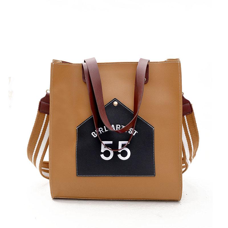 Large capacity bag female all-match Tote Bag 2017 Korean winter influx of new Shoulder Bag Messenger Bag Handbag