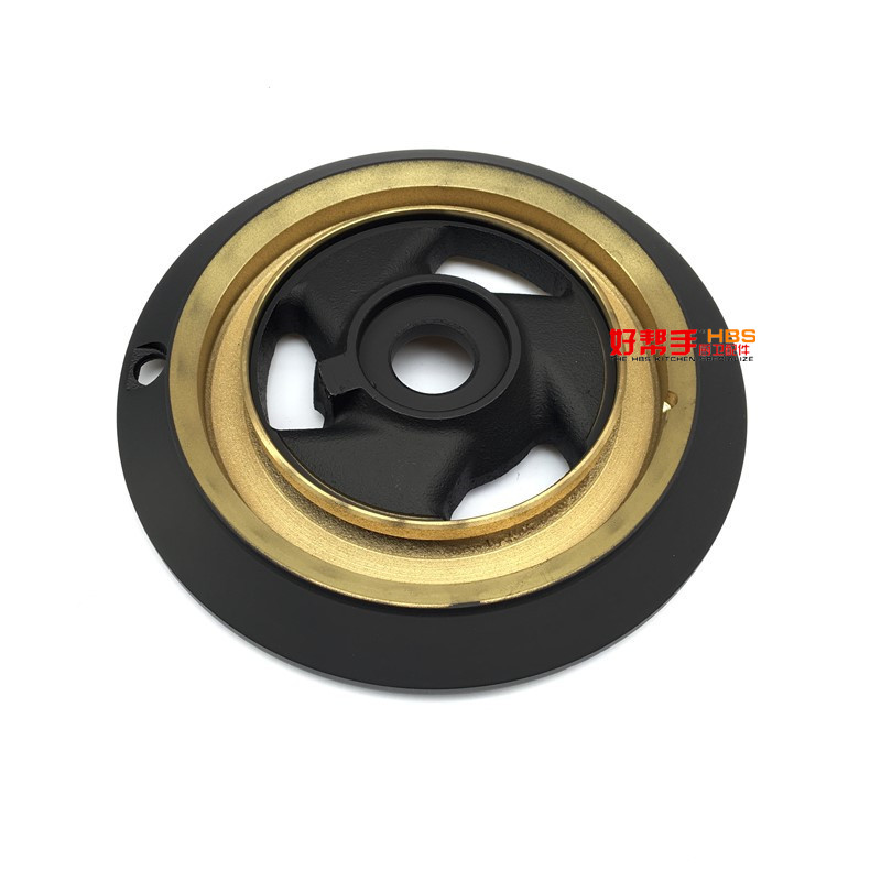 Gas stove fittings, fire cover forward, real gold 213AS213BS pressure fire cover split fire burner gas cooker