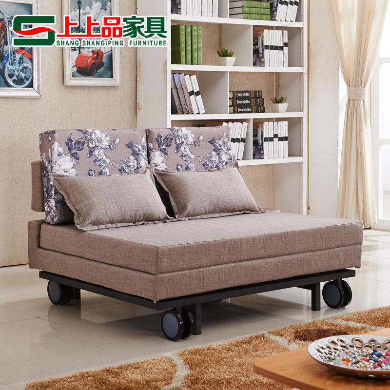 πολυλειτουργική πτυσσόμενο καναπέ - κρεβάτι 1,8 μικρό διαμέρισμα μια διπλή πτυσσόμενο κρεβάτι στο σαλόνι 1.2/1.5 μέτρα ύφασμα διπλής χρήσης