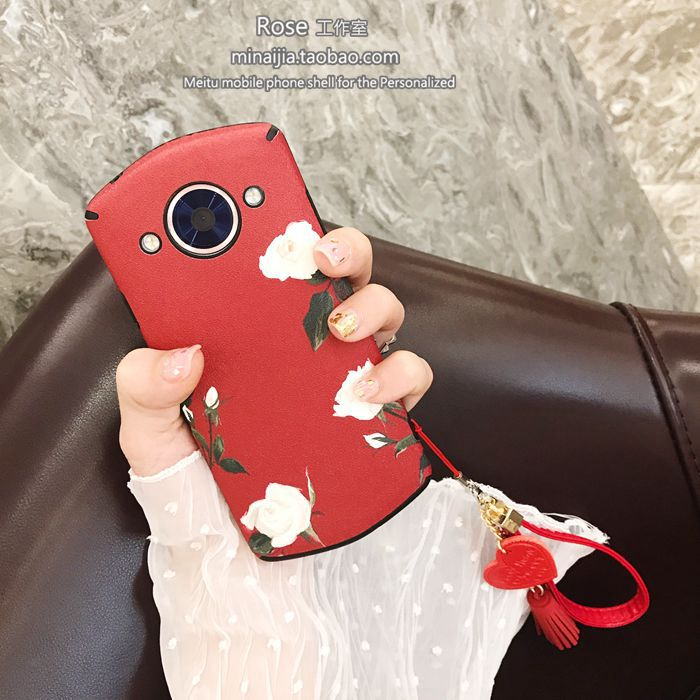 Art rose love hand rope M4V4 Mito M6s/T8 full mobile phone shell M8 silicone female soft shell trend