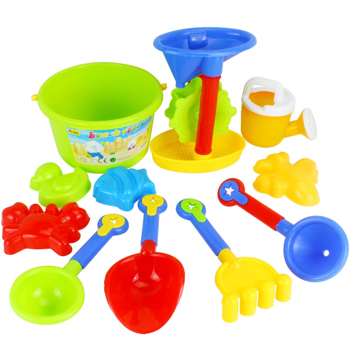 Ni os jugando con la arena de playa grande beb juguetes for Arena de playa precio