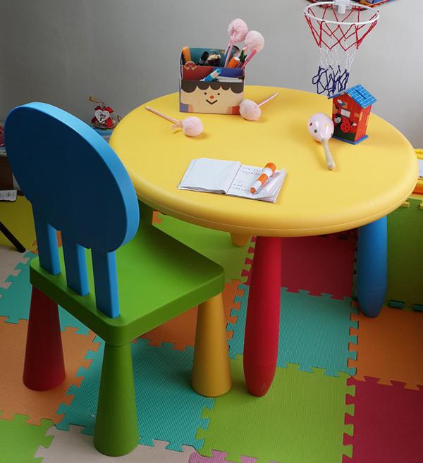 mesas y sillas de plastico para ninos dise os