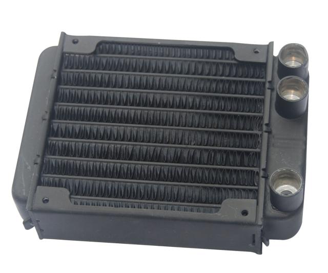 90 de disipación de calor y agua, radiador refrigerado por agua, la computadora, la computadora del radiador refrigerado por agua