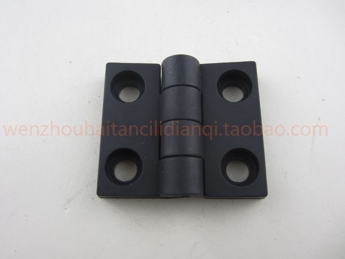 Haitan aluminum plastic nylon ABS nylon hinge hinge hinge 60mm*50mm factory direct sales