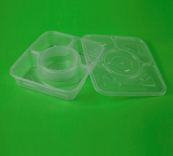 en matlåda snabbmat 15375pp tillämpas på förpackningen förpackning för luftfarten med mat och dryck