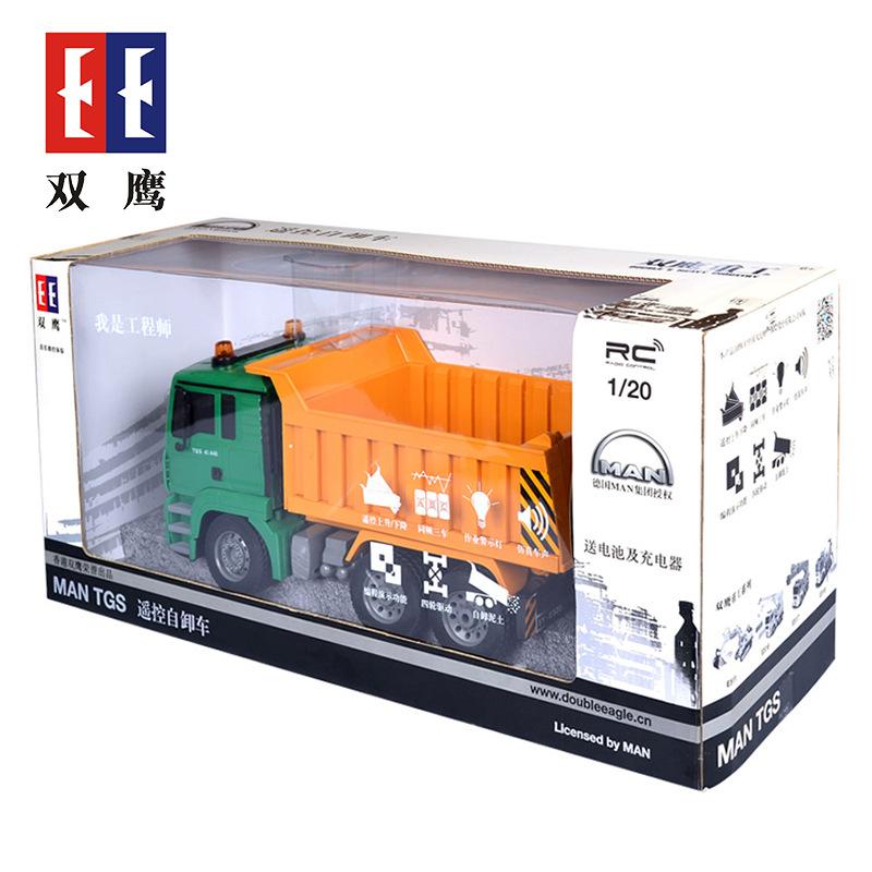 Double Eagle - fahrzeug für Kinder - lkw - Kipper ferngesteuertes auto Transport - dumper truck den schlamm