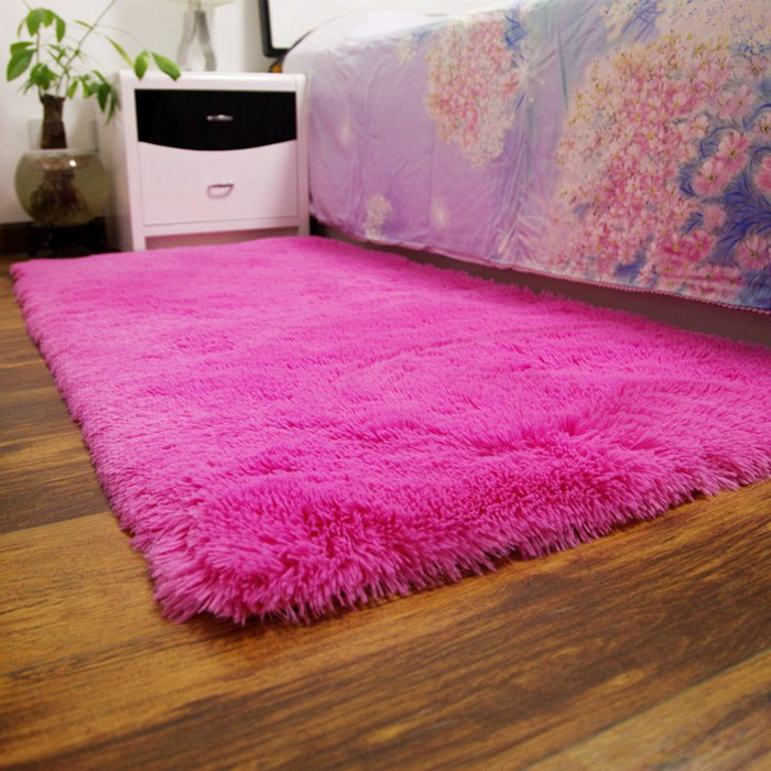 Thick silk wool carpet in the living room table bedroom carpet carpet carpet mats can be customized tatami bed