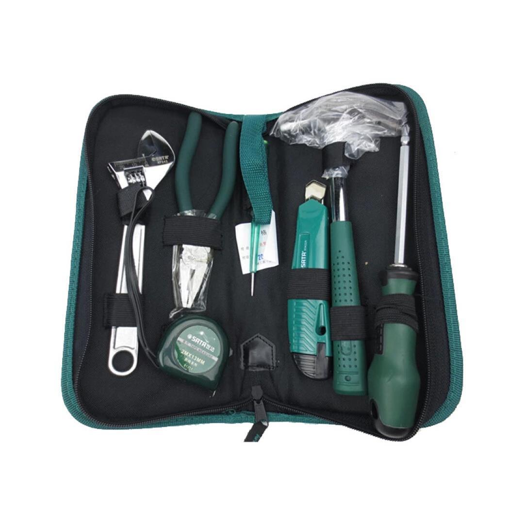 Шида (SATA) бытовых аппаратных средств костюм комплексного обслуживания инструмент набор инструментария 06001 7 элемент