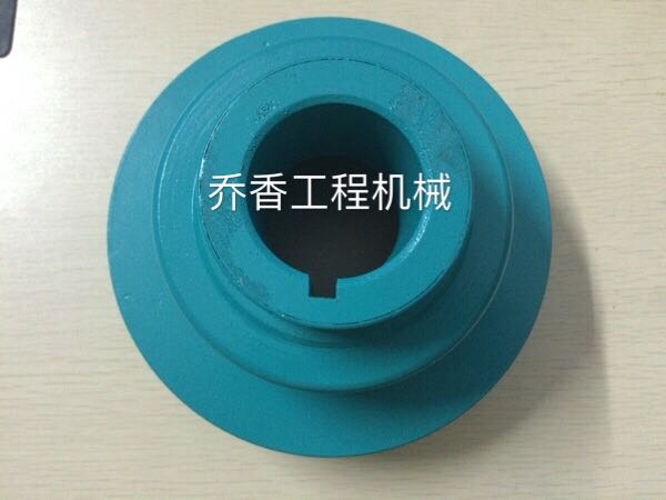 Excavator accessories: S6K high quality crankshaft pulley (double groove, 160 outer diameter)
