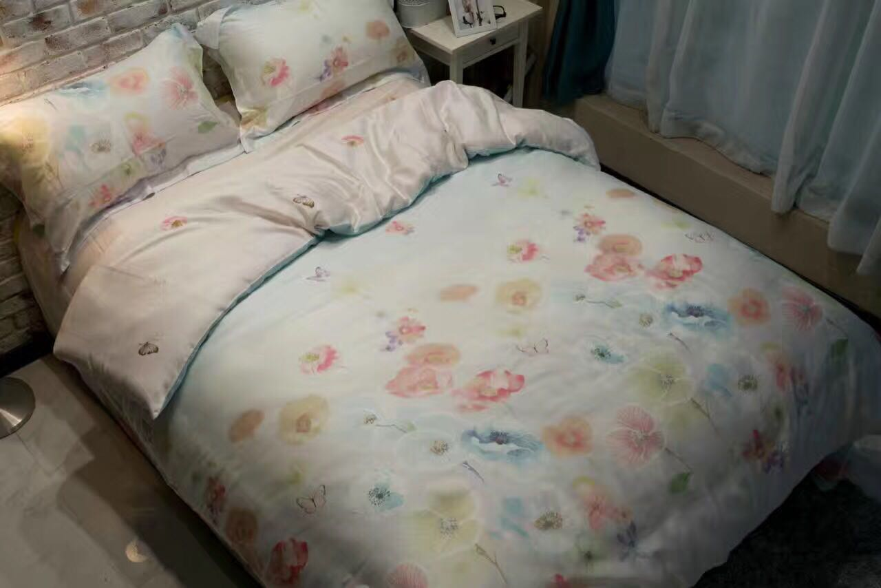 17 new 40 Tencel four piece smooth bare sleep for spring summer and autumn three seasons gifts 10 agent here