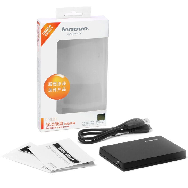Die post Lenovo F308 mobile festplatte verschlüsselt werden mobile festplatte 1tUSB3.0 1tb - Verkauf