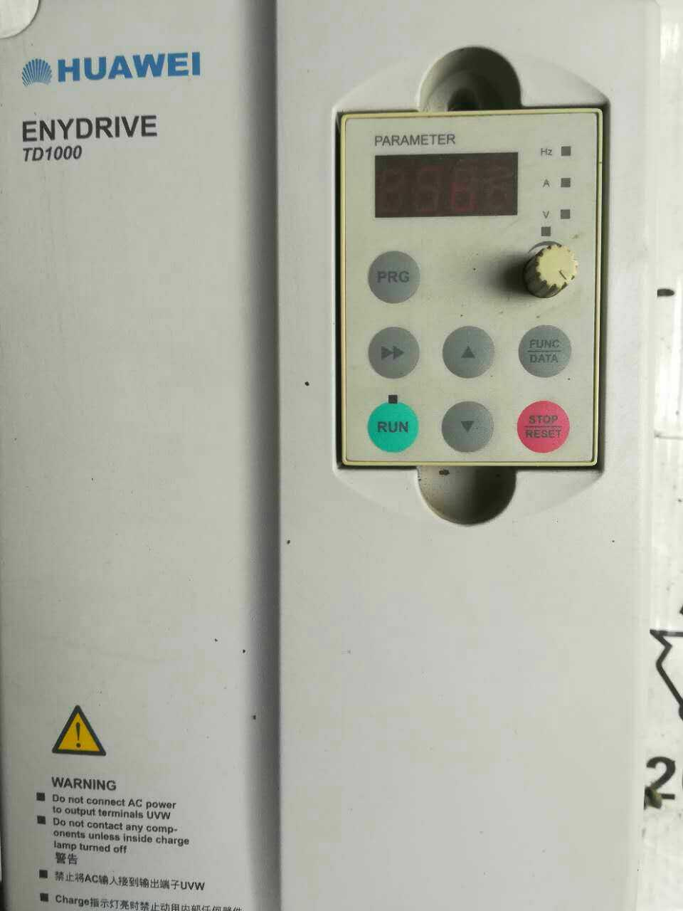 Emerson EV1000-4T0055P5.5KW380 - test Gut