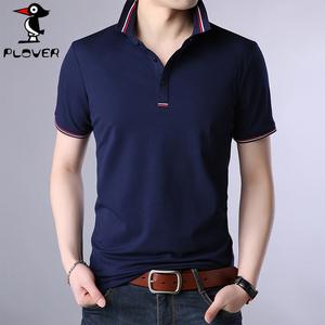 啄木鸟男士短袖t恤韩版衬衫男装半袖上衣服潮流夏季打底衫polo衫