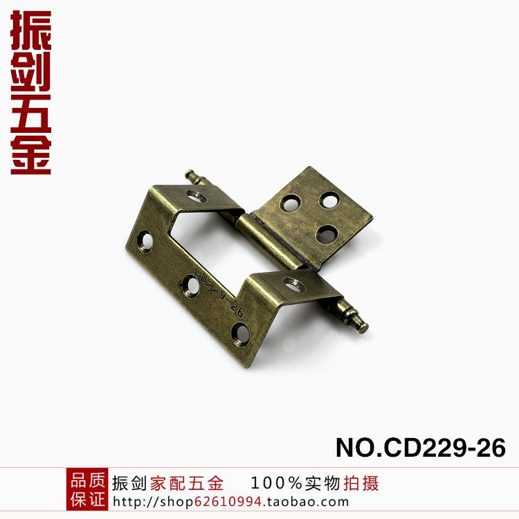 корона голову имитация бронза поворотной пластины петли складные петли специальной петли NO.229-26 поворотной пластины